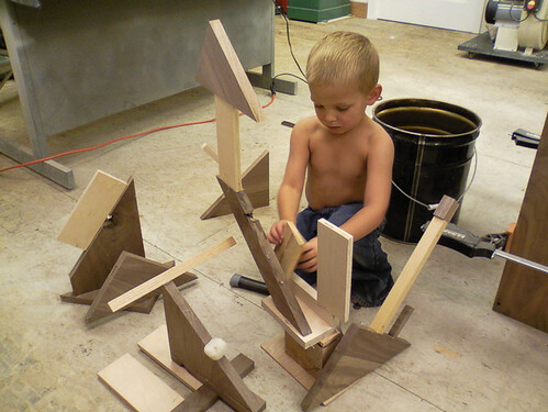 Kohen woodworking projects