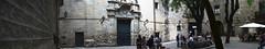 Panorama Plaa Sant Felip Neri - Barcelona (marimbajlamesa) Tags: barcelona plaza old panorama espaa church square spain place antique pano bcn iglesia panoramic catalonia panoramica catalunya piazza viejo eglise antic catalua catalan barna plaa catala esglesia antogui