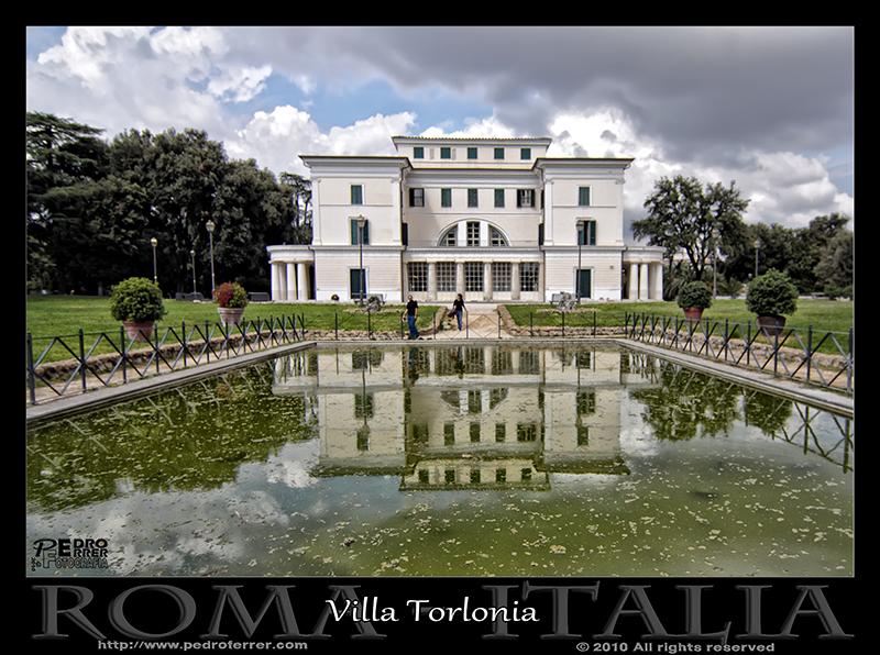 Roma - Villa Torlonia - Il Casino Nobile