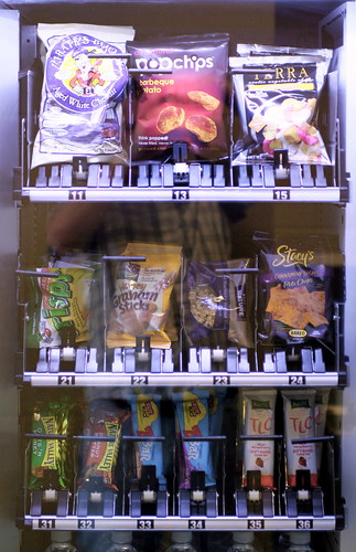 healthy vending machine, healthy snacks