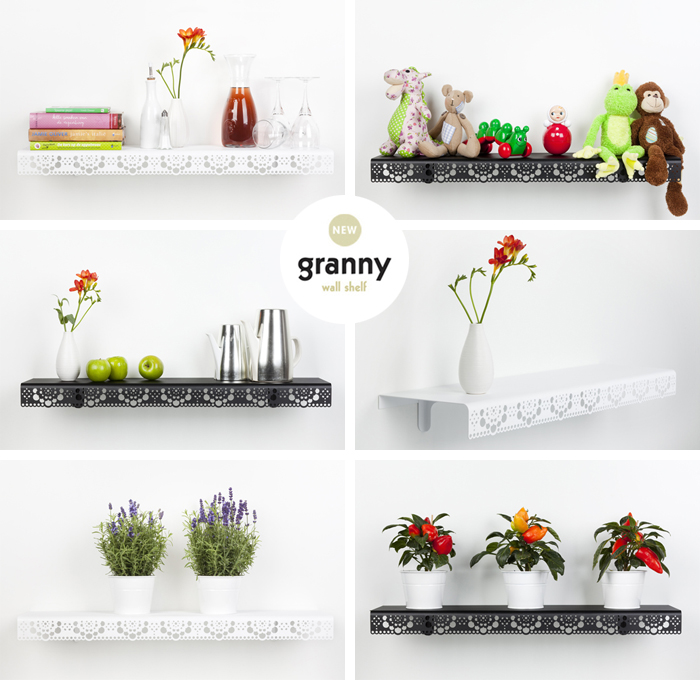 Granny Wall Shelf by Beerd van Stokkum