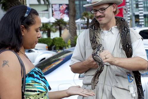 Desi & Snake