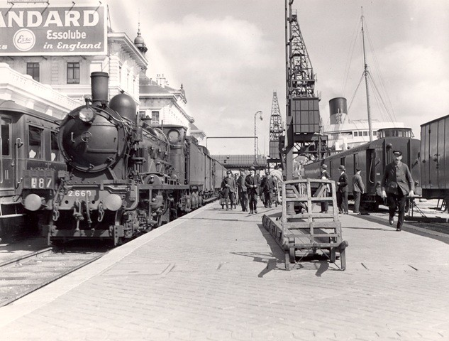 Calais - India mail train by British Postal Museum amp Archive