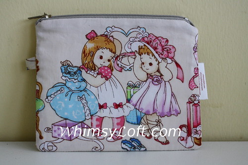 evy purse - tea party beigh