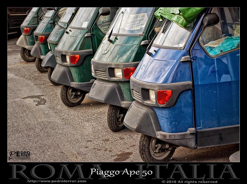Roma - Piaggo APE 50 furgón
