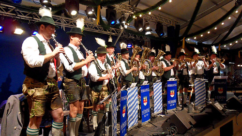 Oktoberfest, the big beer festival in Munich