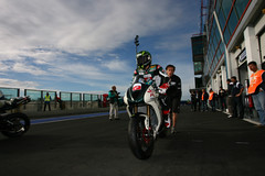 We're waiting for Triumph! Magny-Cours, in action (Triumph BE1 Racing) Tags: david julien italia motorcycles round triumph daytona davies chaz cours 2010 magny vittorio supersport wss 675 salom wsbk enjolras iannuzzo