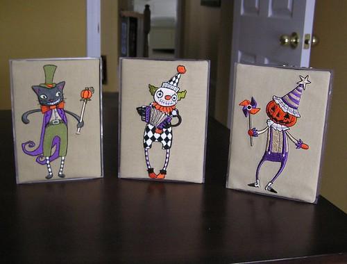 Halloween Triptych