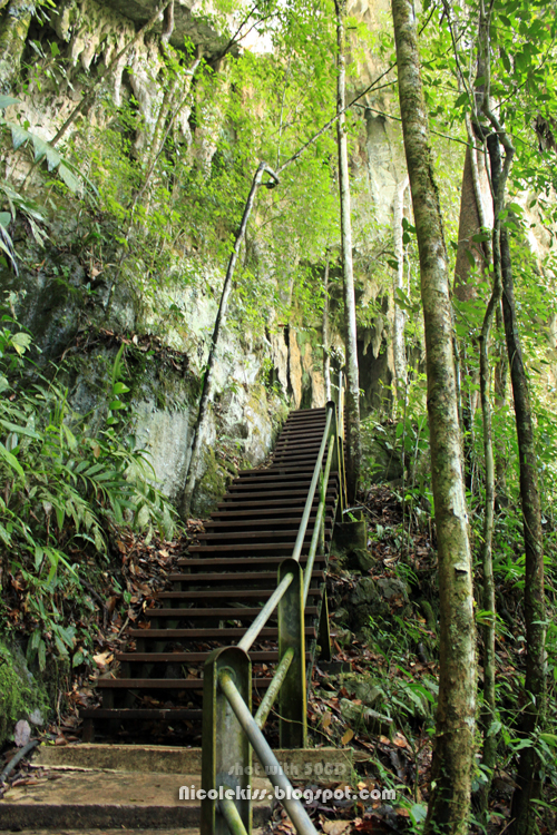 mid-stairs to clearwater cave