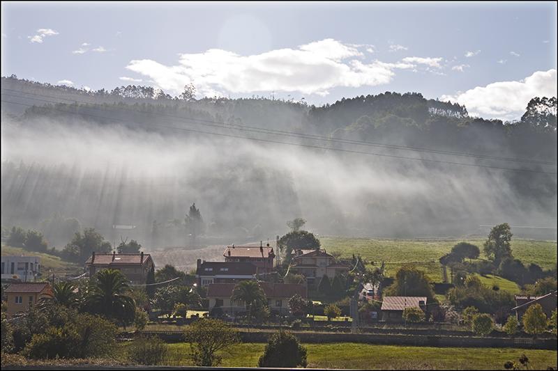 Bruma en Villaviciosa