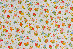 Vintage Pillowcase (Jeni Baker | In Color Order) Tags: floral vintage october apartment recycled linen sheets fabric sheet pillowcase 2010 bedding repurposed bedsheet reused