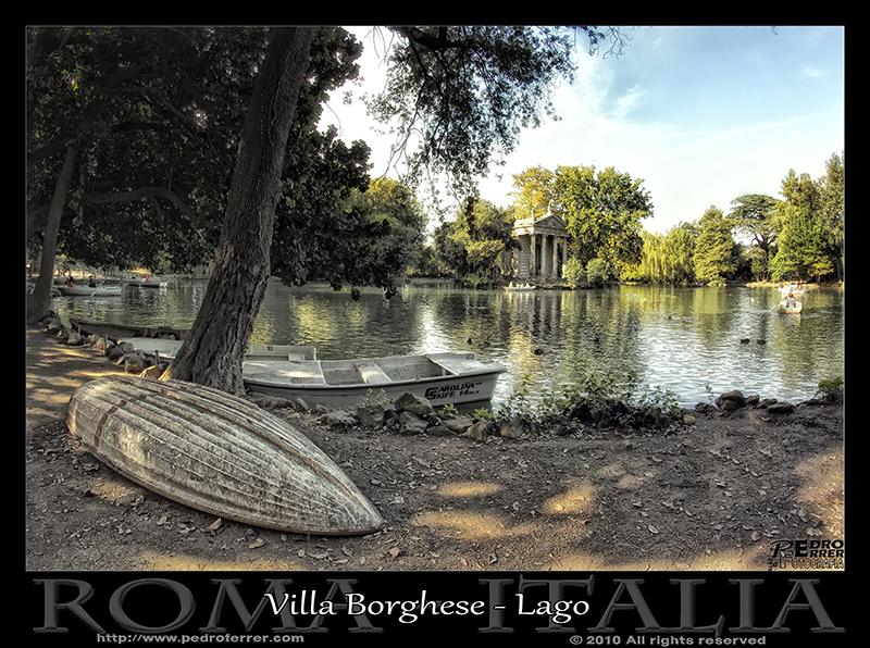Roma - Villa Borghese - Lago