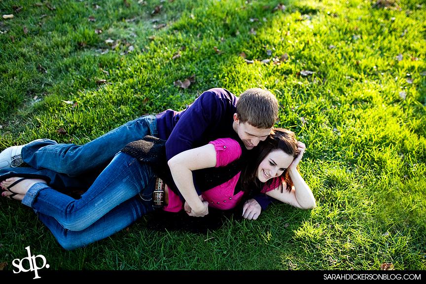 Loose Park, Kansas City Missouri engagement photographers