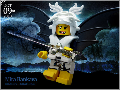 October 9 - Mira Bankava, Dhampyr Champion