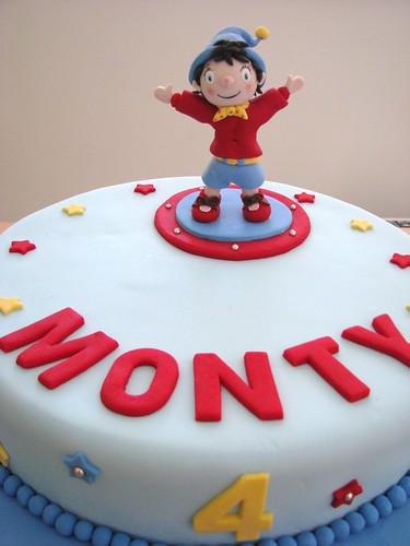 Monty's 4th Noddy cake
