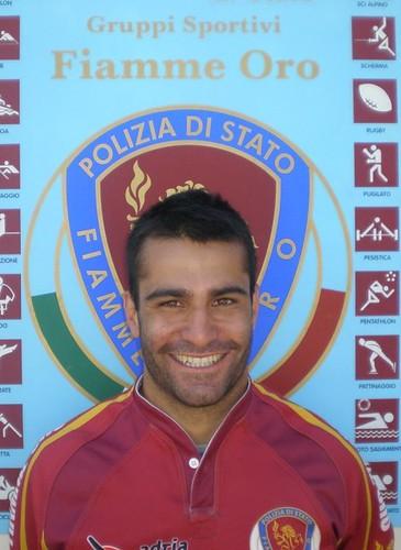 Roberto Mariani, capitano delle Fiamme Oro