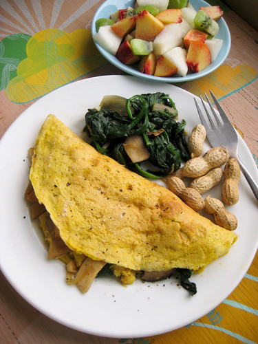 Saturday Brunch: Vegan Omelet
