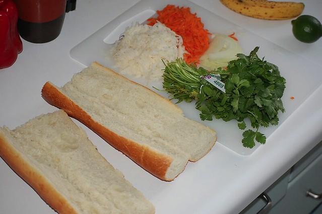 Vietnamese Sandwiches.