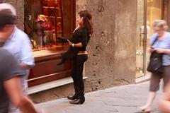 Unterwegs in Siena, Italien