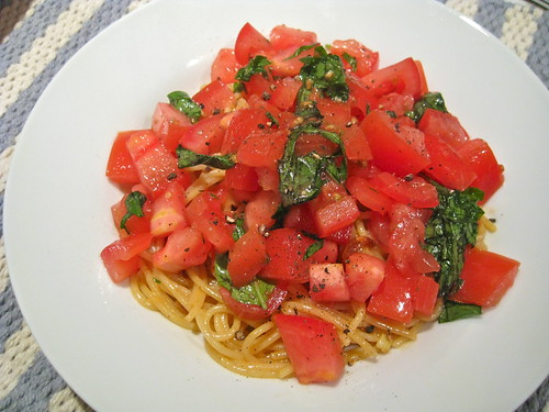Tomato and Basil Spaghetti