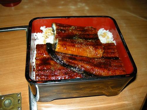 Unagi Meal (w/ miso soup)