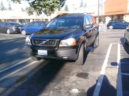 Nice parking job.