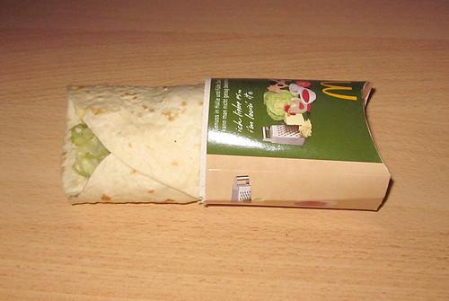02 - Crispy Shrimps Wrap - geöffnet