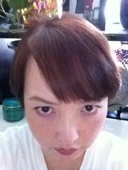 髪切りました。イメチェンしたかったので、前髪多めに作りました。和田さんみたいになりました。和田さんは和田さんでも、和田アキ子さんです。