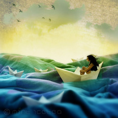 The blue Sailor's Song (MINT ICETEA) Tags: blue sea selfportrait paper boat cool quilt dream inspired surreal blanket imagination sailor uncool monday cool2 cool5 cool3 365days cool6 cool4 cool9 cool7 ifasongcouldgetmeyou uncool2 cool8 uncool3 uncool4 uncool5 uncool6 iceboxcool
