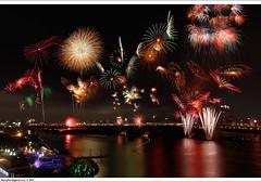 Fireworks on National Day 2010  (*dans) Tags: flowers fireworks taiwan taipei    t1  1010 nationalday        powerofbeauty   worldtrekker    taipeiintlfloraexpo  20101010    t1