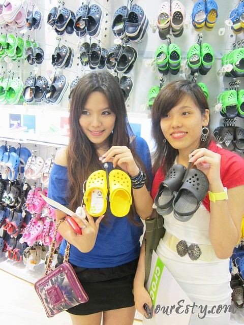 crocs launch mid valley esty