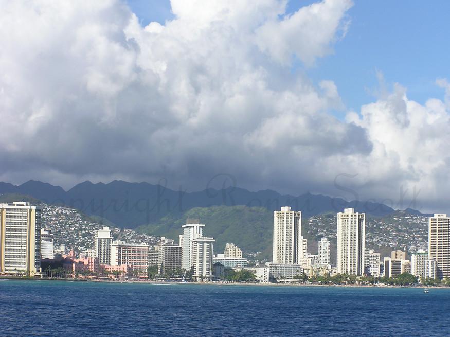 Waikiki Beach front SOOC