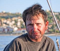 Pescatore della feluca (Marco Crupi Visual Artist) Tags: sea italy man nikon europa europe italia mare uomo sicily nikkor sicilia messina d90 manandthesea nikonista