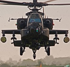 Apache Storm... (mickb6265) Tags: armyaircorps longbow wattisham duxfordautumnairshow2010 boeingapacheahmk1 attackhelicopterforce rollsroycertm322