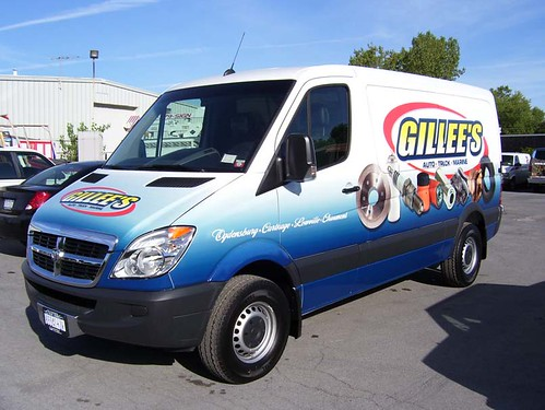 gillees sprinter wrap side