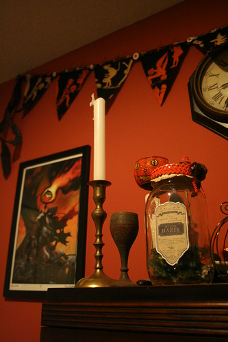 Witch Hazel and Candles