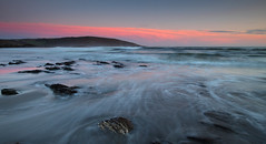 Pink sky at night..... (@Gking_photo) Tags: pink sunset sea england sky seascape colour water clouds canon landscape photography rocks waves tide devon westcountry wembury southhams canon1740mmf4l canon50d