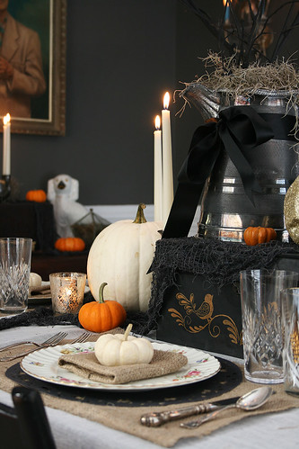 Samhain tablescape
