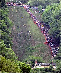 Cheeserolling, or why I love the British