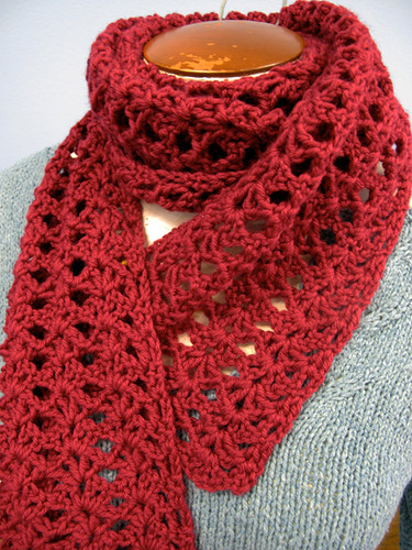Scarf for Crochet 101 Class
