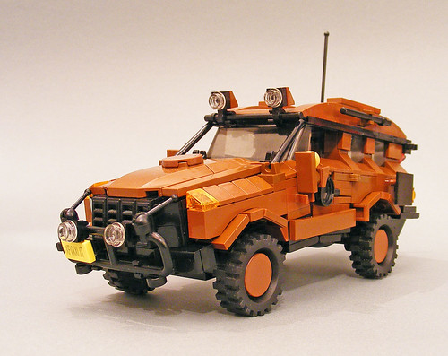 LEGO Cole Blaq Range Rover