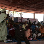 Day one of a citizens' jury in Mali by