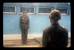 kimology #30 (quixotic54) Tags: leica film soldier military 28mm north slide korea 64 summicron 28 kodachrome m6 asph dmz zone northkorea  leicam6 dprk demilitarized  kr64 autaut nikonsupercoolscan9000ed leicasummicron28mmf20asph