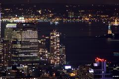 Lady Liberty at Night (Patrick Dirden) Tags: nyc newyorkcity ny newyork skyline architecture night downtown skyscrapers manhattan statueofliberty