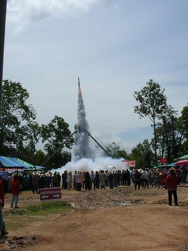 Rocket Festival.