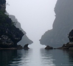 Kayaking Halong Bay - Karsts