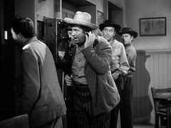 bad time to be on the phone (herbynow) Tags: namethatfilm named andydevine broderickcrawford whenthedaltonsrode
