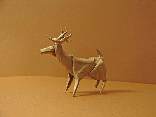 Origami Deer (page 1).