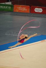 JONES Francesca - Rythmic Gymnastics Delhi 2010