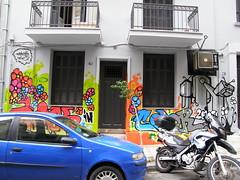 Think in color (copepodo) Tags: grafitti athens greece grecia atenas exarhia exargia